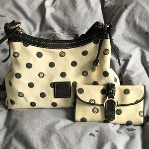 Dooney & Bourke Shoulder bag & Wallet Set